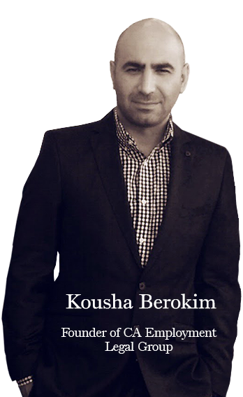Kousha Berokim founder of CA Employment Legal Group