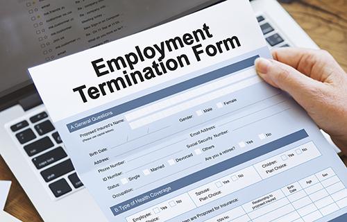 Employment Termination Form document